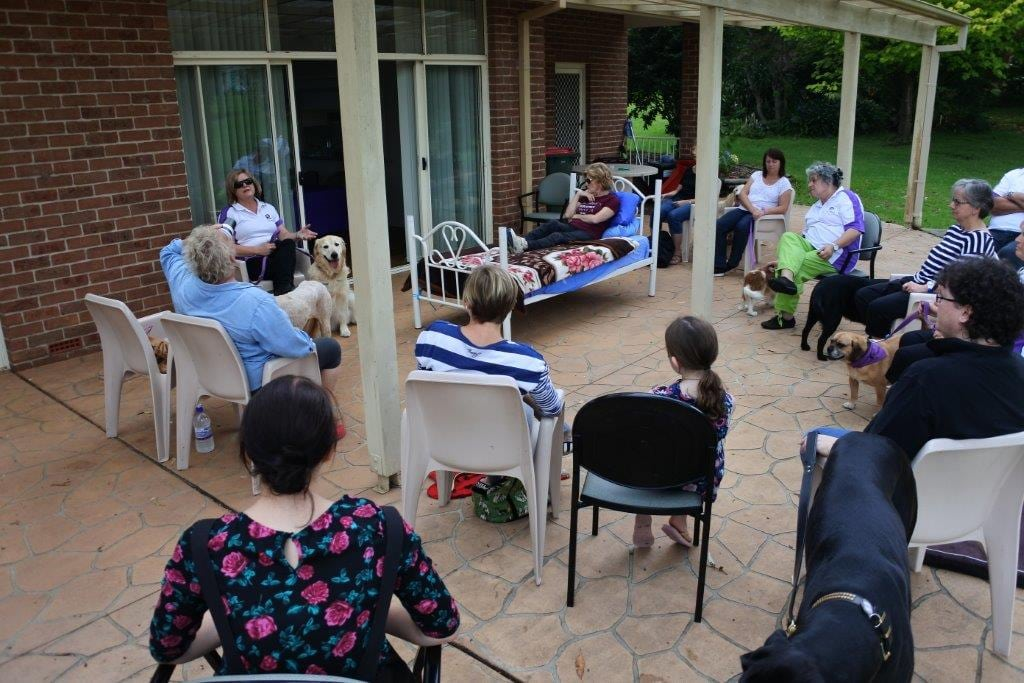 Paws-Pet-Therapy-Training-at-RSL-LifeCareTaara-Gardens | RSL LifeCare - provide care and service to war veterans, retirement villages and accommodation, aged care services and assisted living