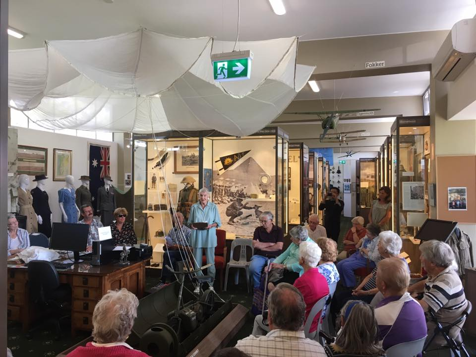 RAK-Catharina-talks-of-being-a-POW-at-Museum-Week | RSL LifeCare - provide care and service to war veterans, retirement villages and accommodation, aged care services and assisted living
