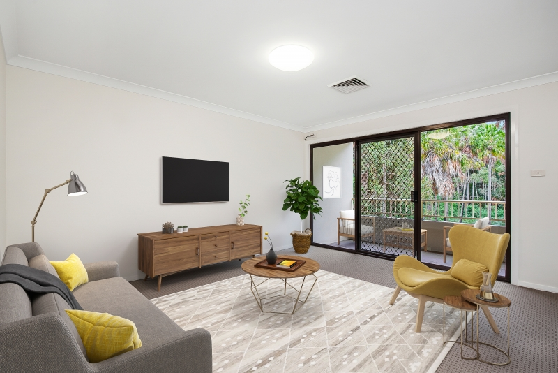Unit-72-living-room | RSL LifeCare - provide care and service to war veterans, retirement villages and accommodation, aged care services and assisted living